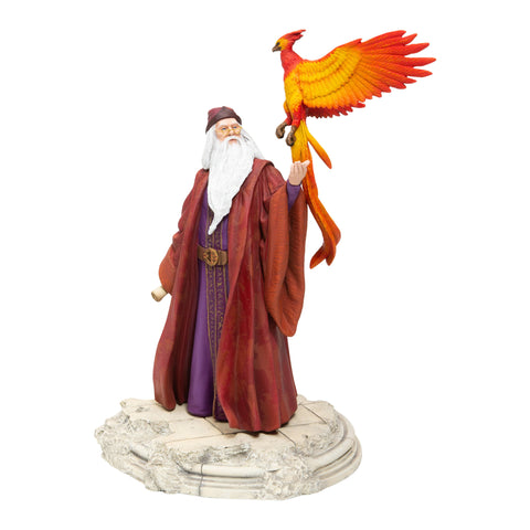 Enesco Harry Potter Dumbledore w/ Fawkes Figurine 10""