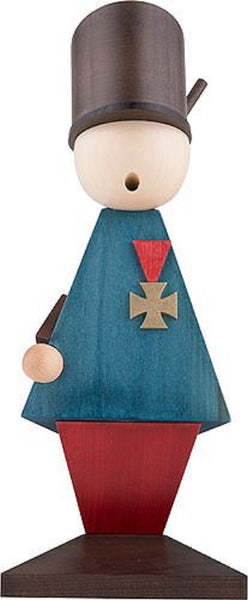 German Incense Smoker KWO General Handmade Wood