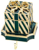 Olivia Riegel Stocking Holder Gift Box~ Red, Green or White Choose Colors!!