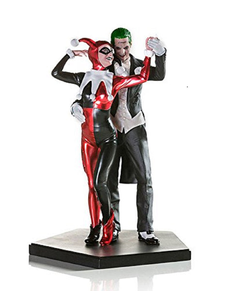 Harley Quinn and Joker Statue 1:10 Scale IRON STUDIOS Suicide Squad DC COMICS