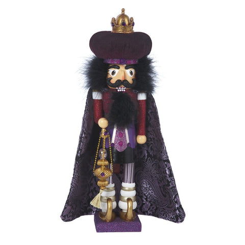 Hollywood Nutcracker PURPLE KING Christmas Kurt Adler WISE MEN 18""