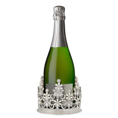 Olivia Riegel Wine Holder KENSINGTON Crown Silver