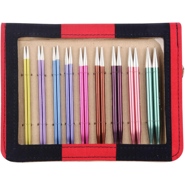 Knitting Needle Set ZING Interchangeable Knitters Pride Deluxe Set