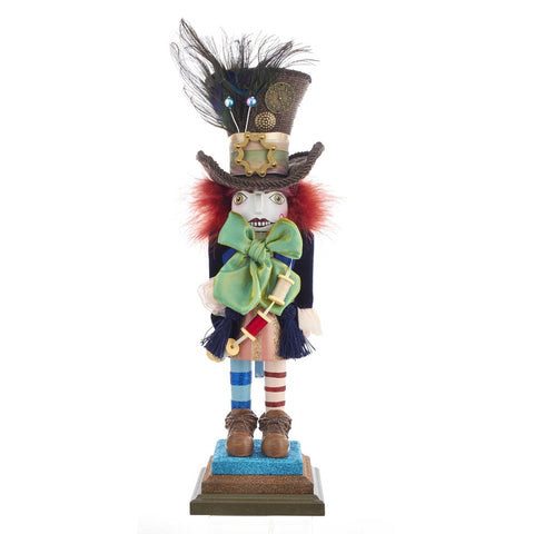 Alice in Wonderland Nutcracker Hollywood Mad Hatter Kurt Adler 18""