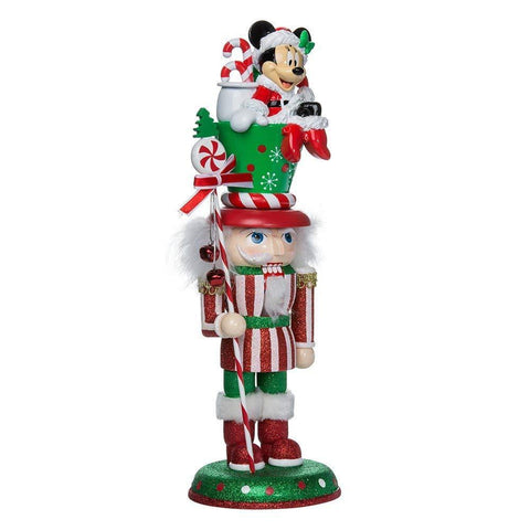 Hollywood Nutcracker MINNIE MOUSE Christmas Kurt Adler DISNEY 14""