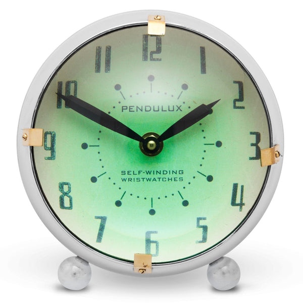 Pendulux Orbit Table Clock Aluminum