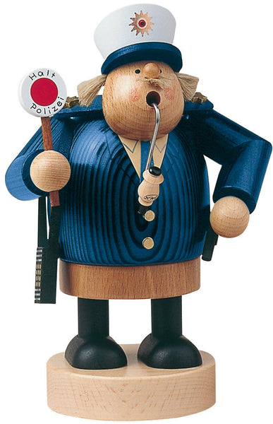 German Incense Smoker KWO Police Handmade Wood