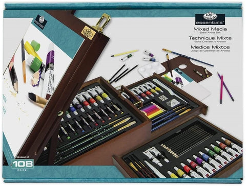 Royal & Langnickel All Media Easel Art Set 108 pc