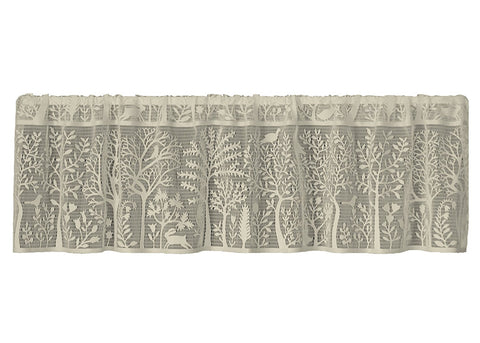 Heritage Lace RABBIT HOLLOW Valance 60x15 CAFE Made in USA