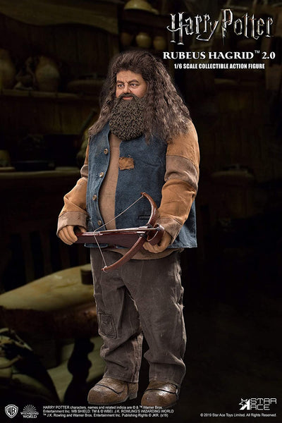 Harry Potter Sorcerers Stone Rubeus Hagrid 2.0 Action Figure 1/6 Star Ace