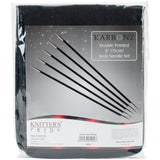 Knitting Needles Knitters Pride DOUBLE Pointed Sock Needle Set KARBONZ