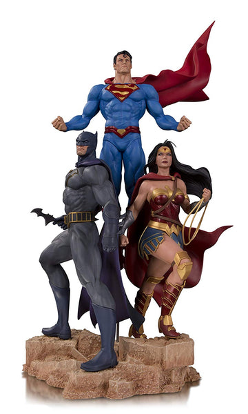 "DC Designer Series TRINITY Jason Fabok Statue 19"" Limited Edition"
