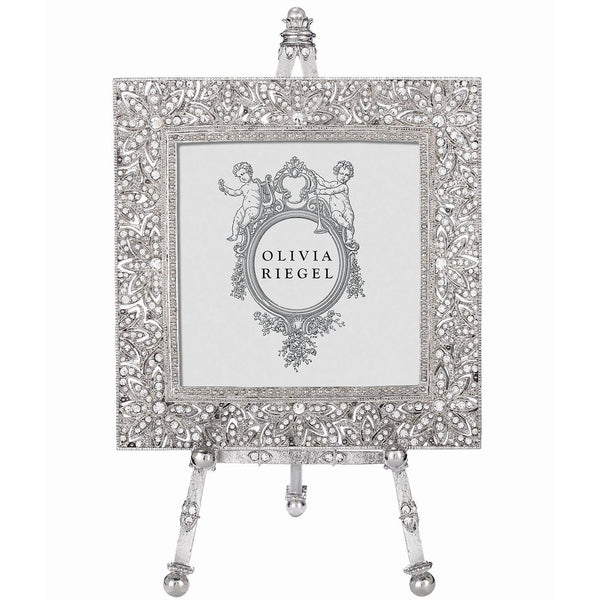 Olivia Riegel Windsor Frame on Easel 4x4 Silver