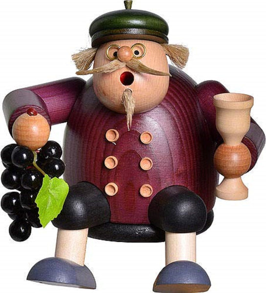 German Incense Smoker KWO Wine Grower Handmade Wood