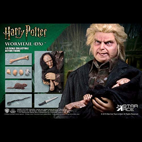 Harry Potter Goblet Fire Wormtail Deluxe Action Figure 1/6 Star Ace