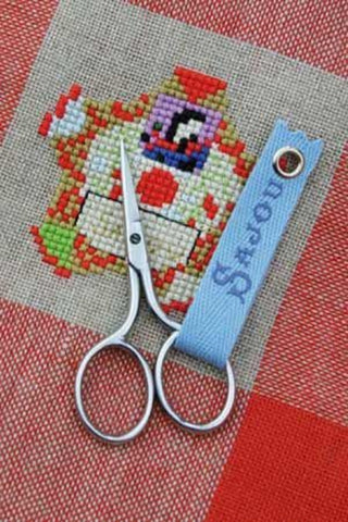 Embroidery SCISSORS Sajou MINI Charmes CHROME 2.75 inches