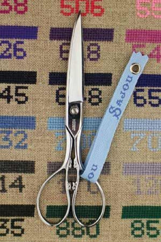 "Dressmakers SCISSORS Laundry Sajou Leaf Design 5.5"" w/Box"