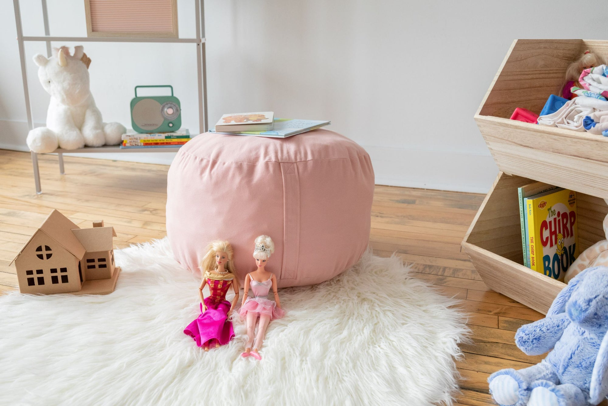 Acme Made Kids Soft Seating, Acme Made Kids Round Pouf