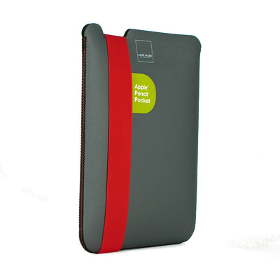 "Skinny Sleeve Tablet - 9.7"" ACME Made Grey Orange Side"