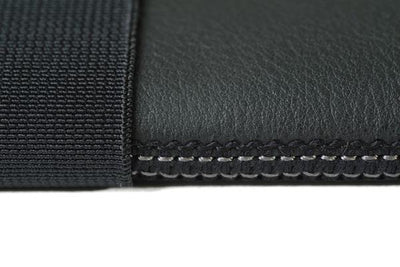 Skinny Sleeve – Large ACME Made Black Leather Stitching
