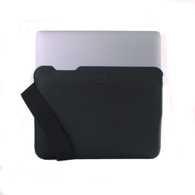 Skinny Sleeve - XXS ACME Made Black Leather Laptop