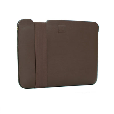 Skinny Sleeve - Medium ACME Made Brown Leather Front Angle