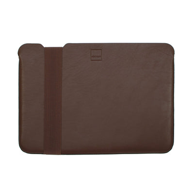 Skinny Sleeve - Medium ACME Made Brown Leather Front