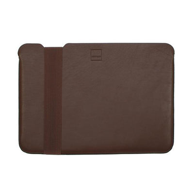 Skinny Sleeve – Large ACME Made Brown Leather Front