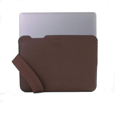 Skinny Sleeve – Large ACME Made Brown Leather Laptop