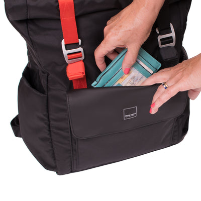 North Point Venturer Backpack ACME Made Front Pocket Open