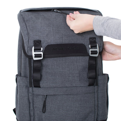 Divisadero Traveler Backpack ACME Made Front Buckles