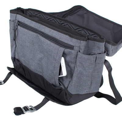 Divisadero Messenger Bag ACME Made Hidden Phone Pocket