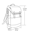 Divisadero Commuter Backpack ACME Made Dimensions