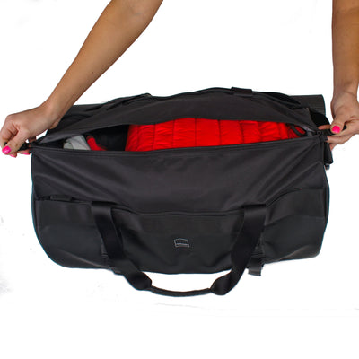 Union Street Tube Duffel Open Zipper