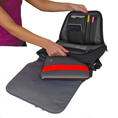 North Point Messenger Bag ACME Made Laptop Sleeve Pocket