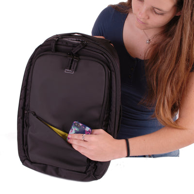 Union Street Commuter Backpack Girl Zipper