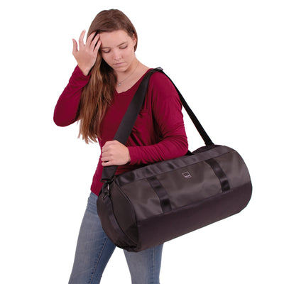 Union Street Tube Duffel Girl Red Shirt