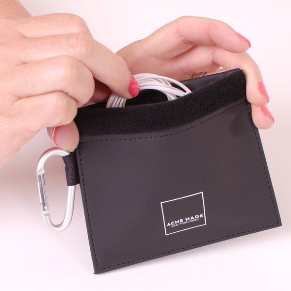 NEW! Mini Spring-top Pouch (Black)