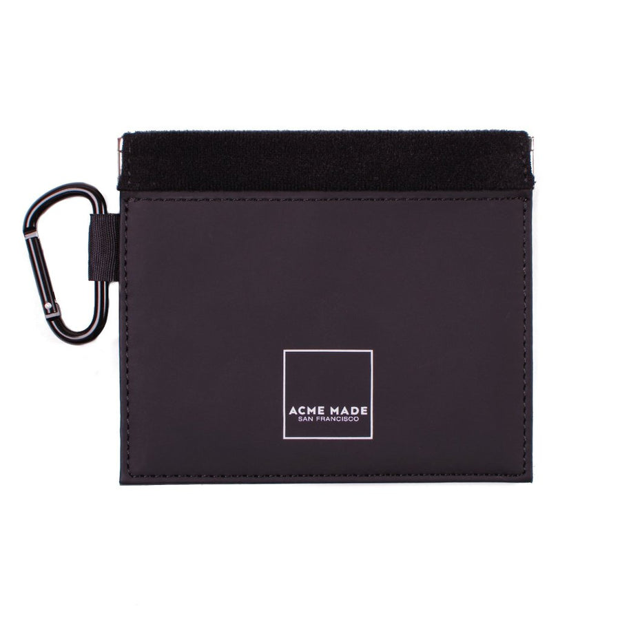 Mini Spring-top Pouch (Black) iPhone Cord