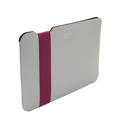 Skinny Sleeve - Medium Acme Made Grey Fuchsia Side