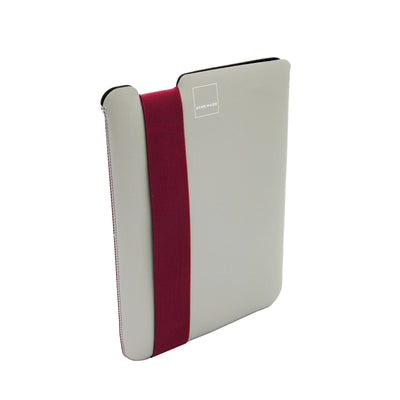 Skinny Sleeve Tablet Medium ACME Made Grey Fuchsia Side