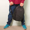 Union Street Commuter Backpack Guy Holding Handle