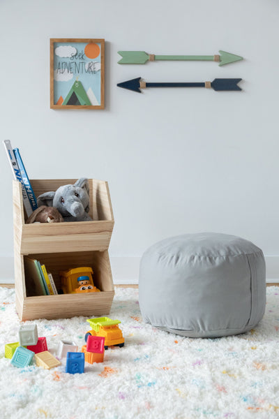 Acme Made Kids Round Pouf