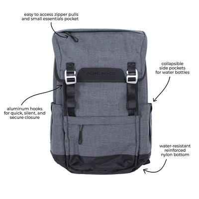 Divisadero Traveler Backpack ACME Made All Features