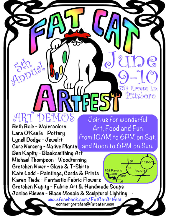 Fat Cat Art Fest 2018