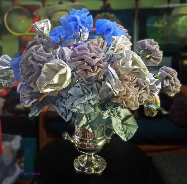 More flowers into Silver Hydrangea. 5