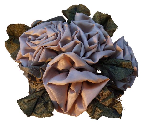 Beige & Brown Rose Bouquet