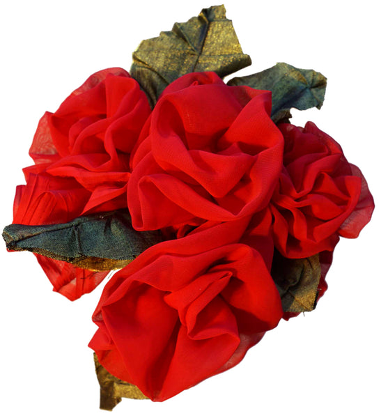 Red Chiffon Roses