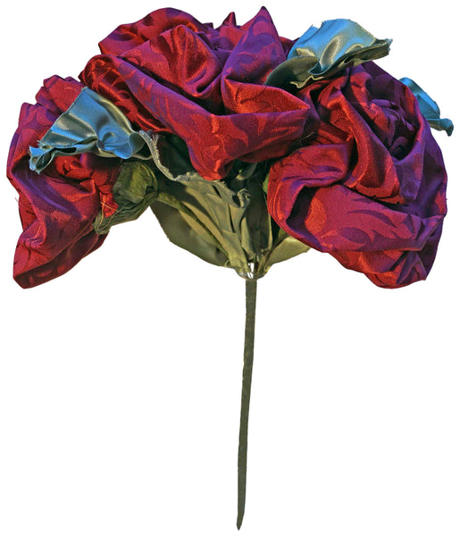 Red Jacquard Rose Bouquet