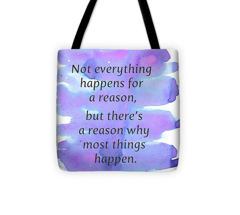 For A Reason - Tote Bag